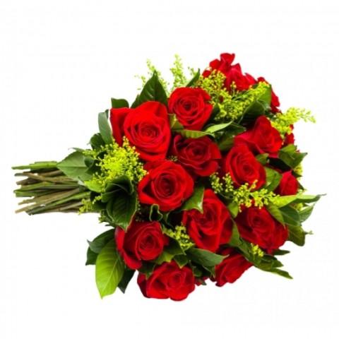 Buquê Amor Eterno com 18 Rosas