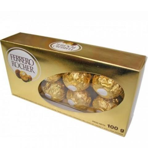 CHOCOLATE FERRERO ROCHER COM 8 BOMBONS